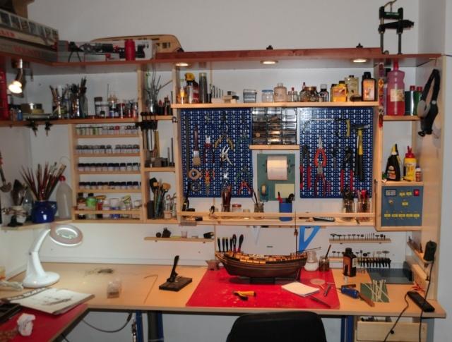 Tavoli Da Lavoro Per Modellismo : Il laboratorio di merlino
